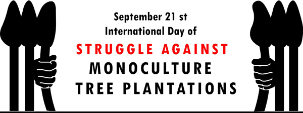 International Day of Struggle against Tree Monocultures
