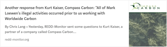 Kurt Kaiser, Compass Carbon