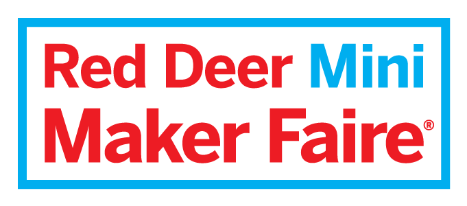 Red Deer Mini Maker Faire logo