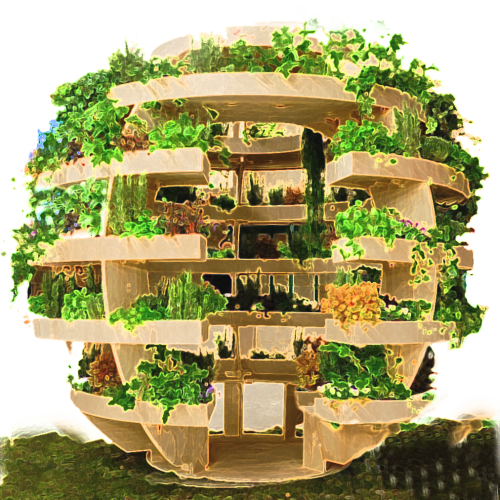 The Growroom - an urban farm pavilion