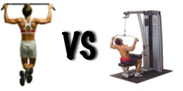 Lat Pull Downs vs Pull Ups - The Red Delta Project