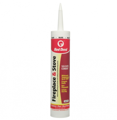 Fireplace Sealant Fireplace & Stove Repair Sealant