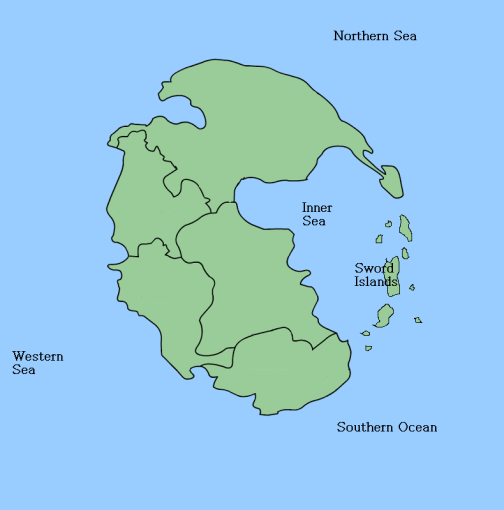 Working on map for Fantasy Campaign