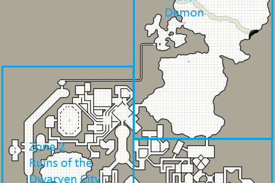 Making use of Fate Zones during Dungeon Crawls in Dungeonworld
