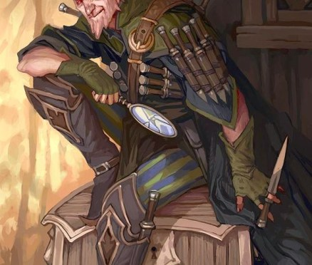 [RPG] D&D 5E character background – Skamos Sorrowson