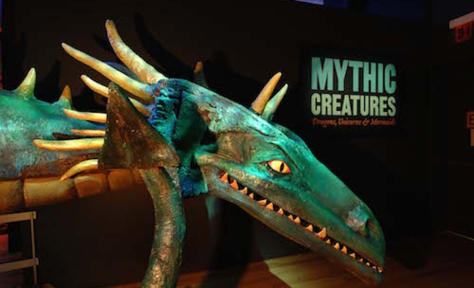 Mythic Creatures: Dragons, Unicorns & Mermaids