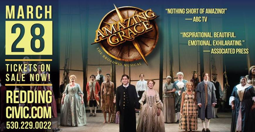 Amazing Grace the Musical banner