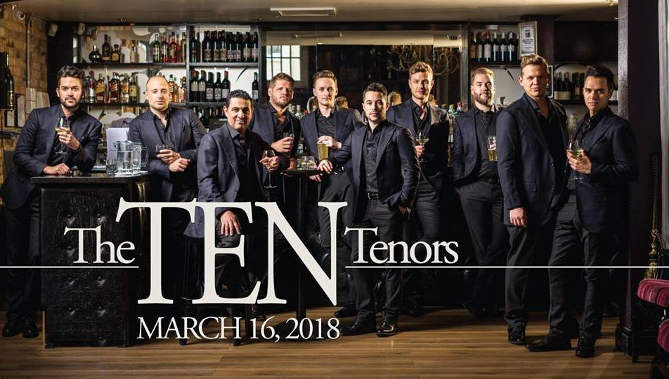 The Ten Tenors at Redding Civic