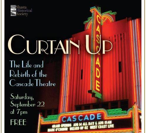 Curtain Up Cascade poster