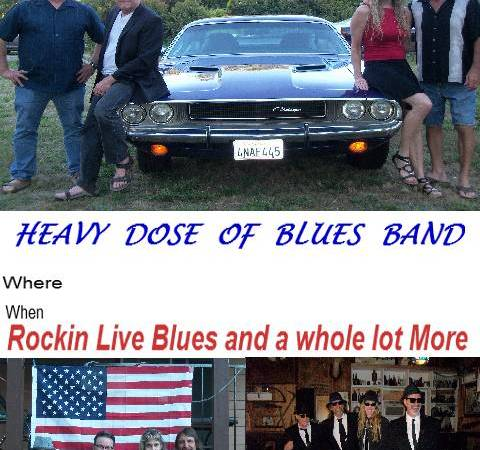 Heavy Dose of Blues band