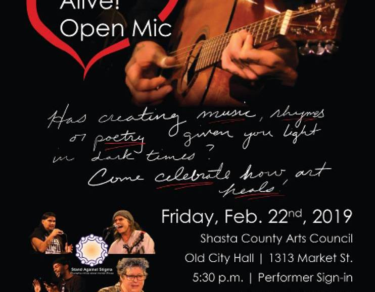 Hope Is Alive! Open Mic Night