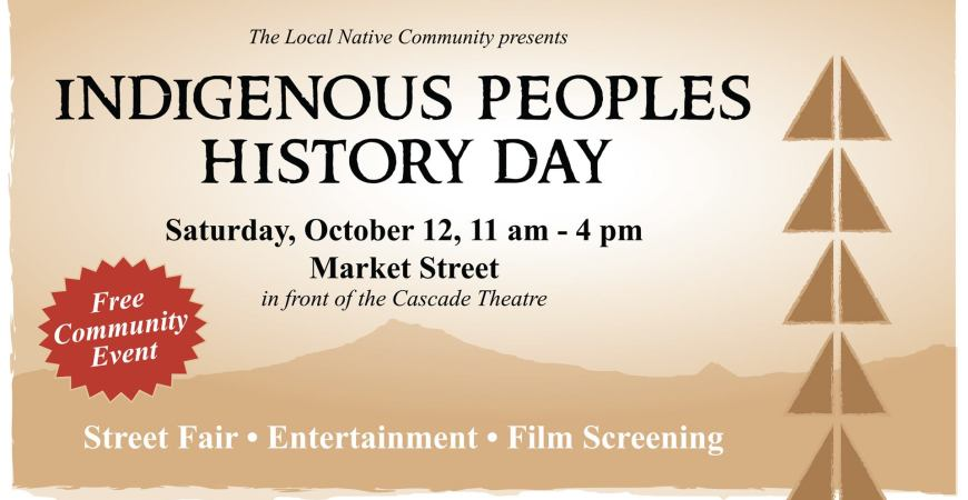 Indigenous Peoples History Day poster
