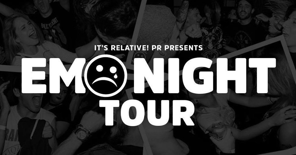 The Emo Night Tour – Redding