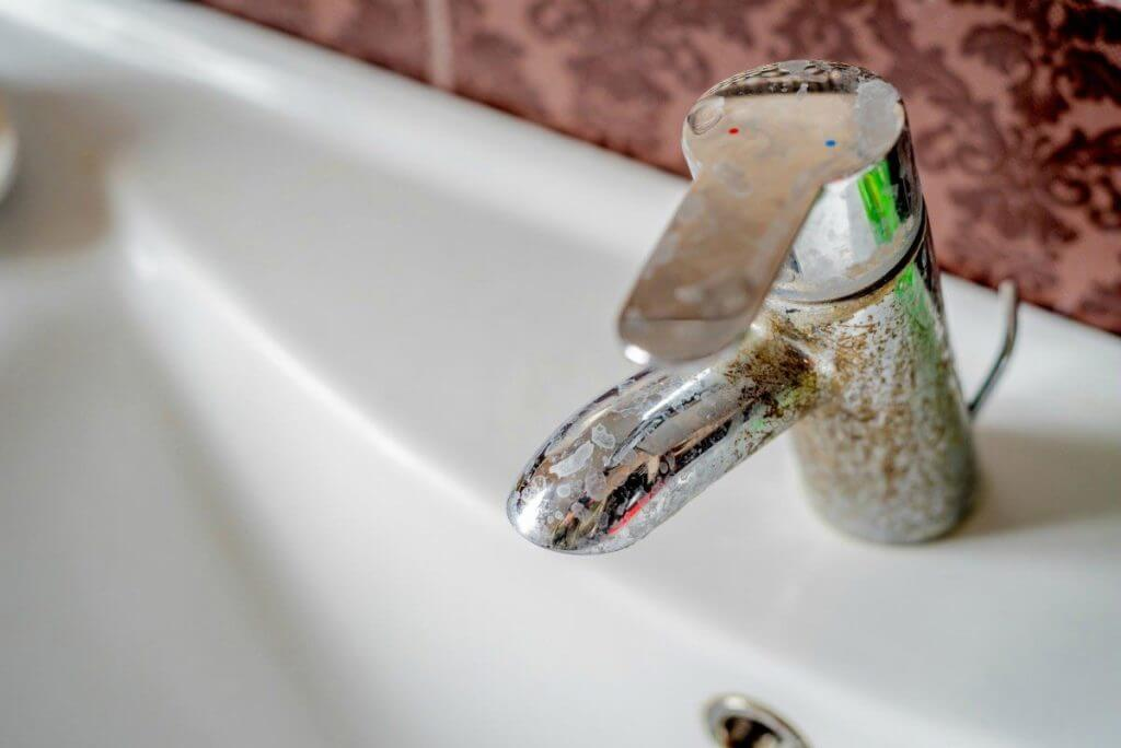 hard water buildup problems and