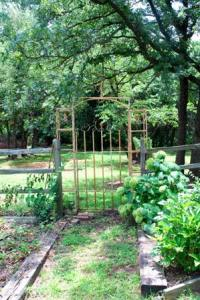 Arbor with 'Annabelle' on the right