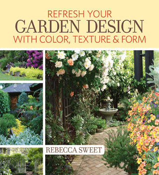 Rebecca Sweet's new book, Refresh Your Garden Design