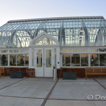 The Ed Lycan Conservatory in Will Rogers Park, Oklahoma City, OK