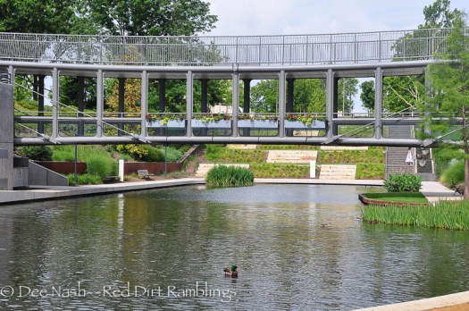 The Myriad Botanical Gardens as seen from the other side.