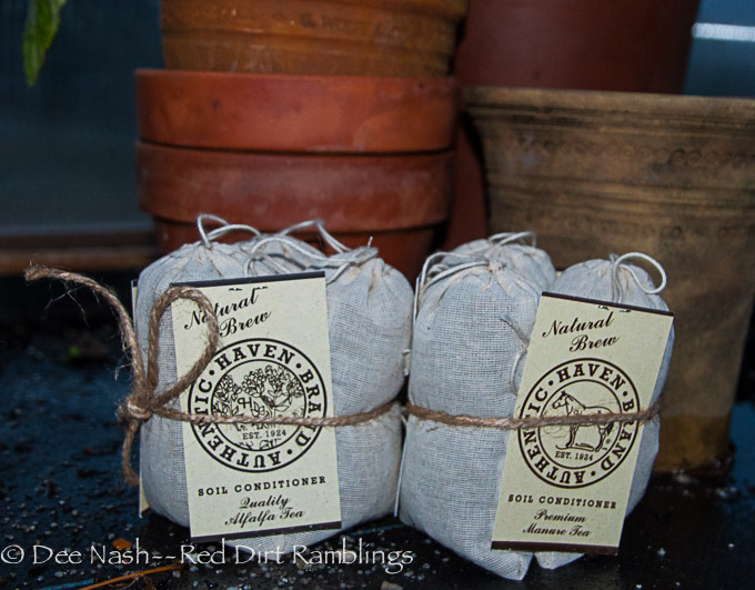 Six bags of manure tea for each winner.