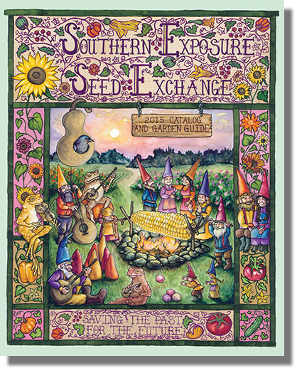 The Southern Exposure Seed Exchange catalog is still free.