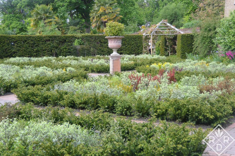 Lovely formal gardens at Wisley.