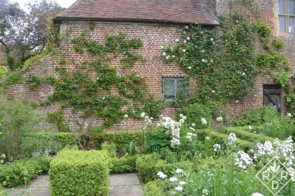 More of Harold and Vita's green, grey and white garden.