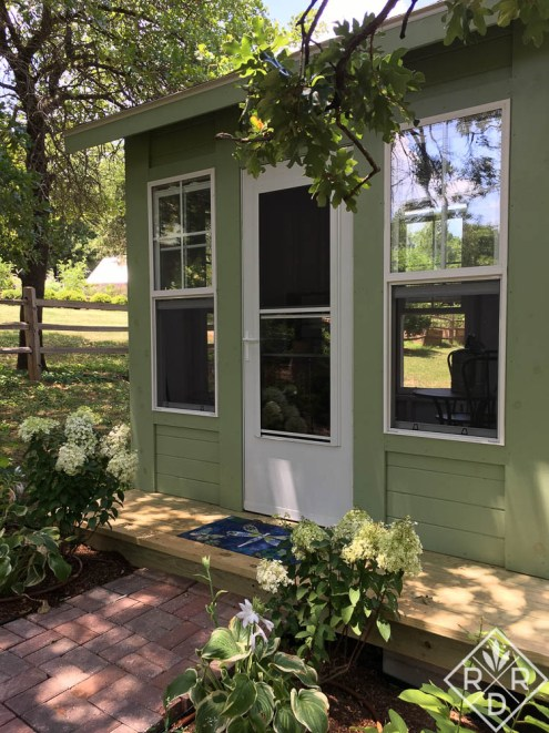 My little she shed. I love it so much.