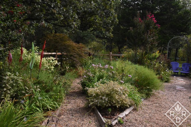 The late-summer garden beckons like a lover in late summer and fall.