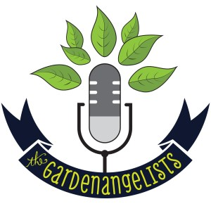 Our podcast logo! The Gardenangelists.