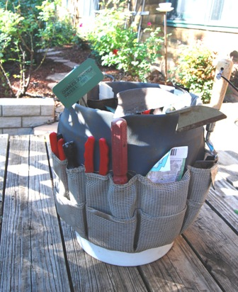 Bucket full of my favorite tools.