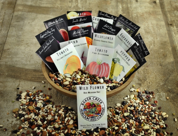 Part of prize #1 Baker Creek Seed Giveaway!