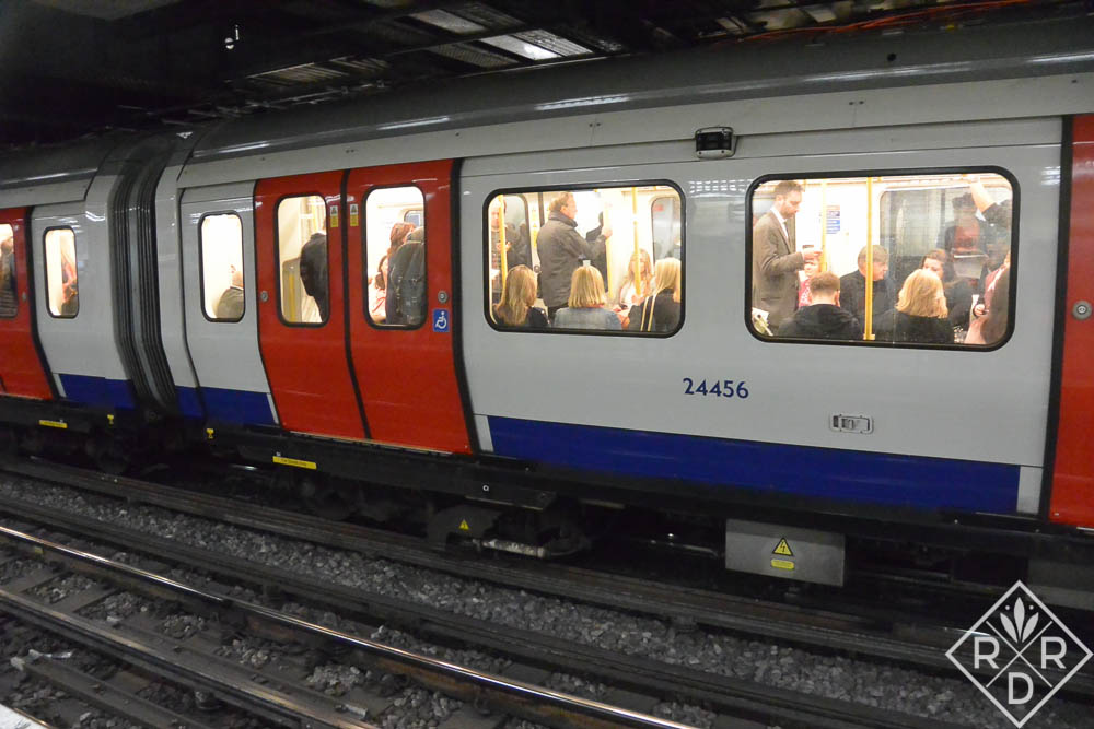 The Tube in London.