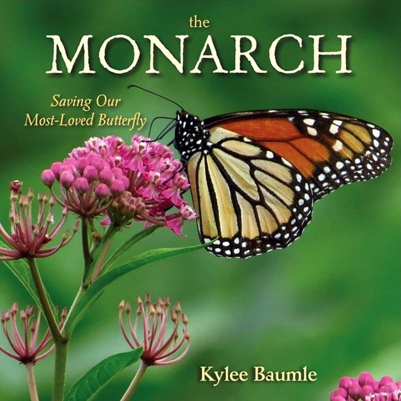 Cover of The Monarch: Saving Our Most-Loved Butterfly. by Kylee Baumle.