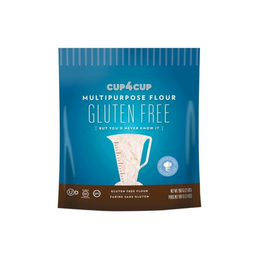 Cup 4 Cup gluten free flour. They also have a wholesome recipe blend which I'm trying this year. It has flaxseed and rice bran in it.
