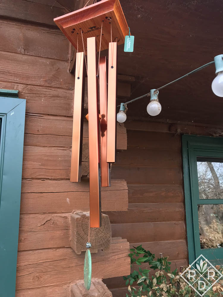 Wind Chimes I bought for myself and for my mother and two of Nita's closest friends.