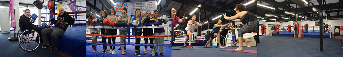 Redditch Boxing Academy in the community