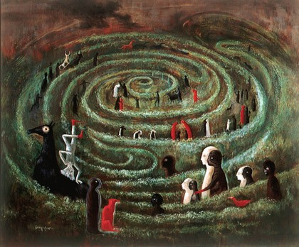 leonora-carrington labyrinth