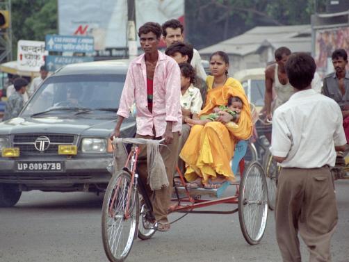 Rickshaw Delhi