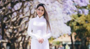 vietnamese long dress with beautiful girls
