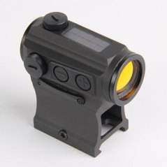 holosun solar powered red dot