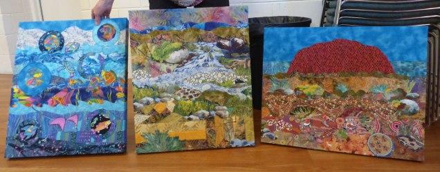 Ryl's Dreamtime triptych