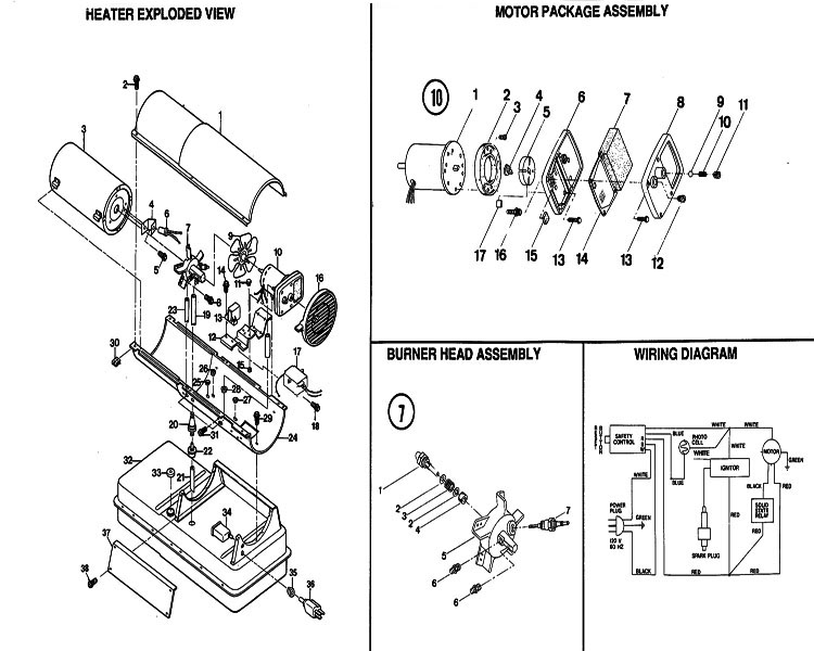 Reddy Heater Wiring Diagram : 27 Wiring Diagram Images