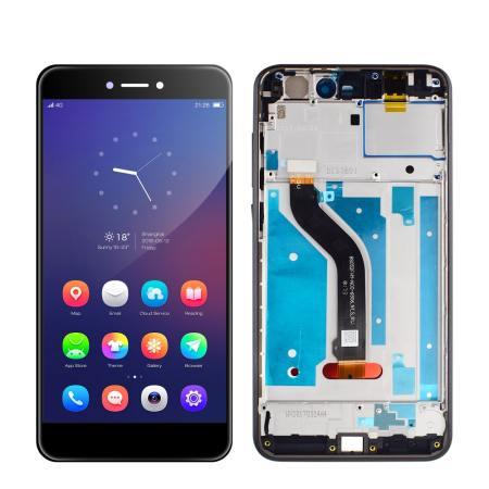 Huawei P9 Lite Skærm Med Ramme Oem Kvalitet