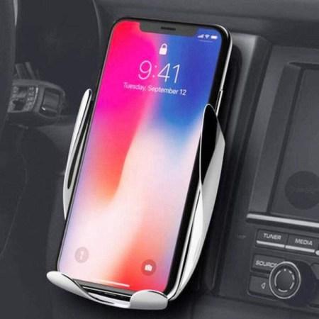 Mobilholder til bilen med Trådløs oplader