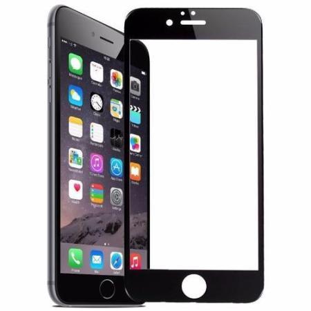 Iphone  Sort Skærmbeskyttelse 9H 0,26mm Alle Modeller