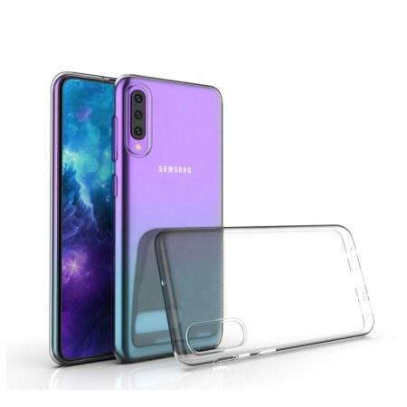 Samsung A70 Ultra Tyndt Cover (Gennemsigtig)