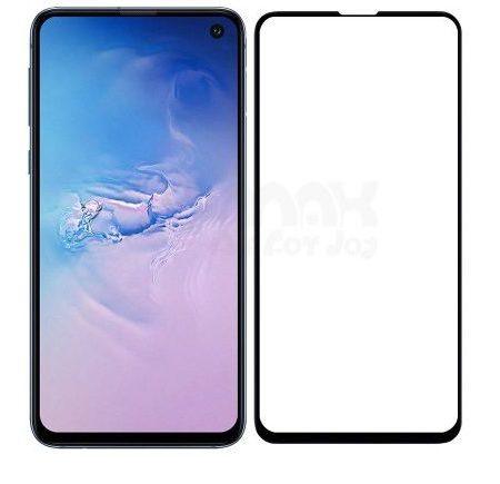 Samsung S10e  Full Skærmbeskyttelse  - Sort
