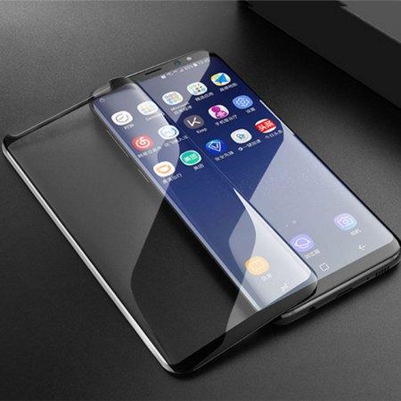 Samsung Note 9 Full Skærmbeskyttelse  - Sort