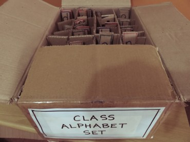 Class alphabet set