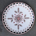 8 in. Ukrainian Wheat Plate - $39.